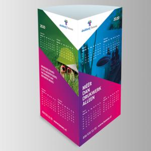 Driehoekkalender drukkerij Teewes