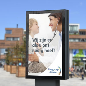Zorggroep Almere billboard